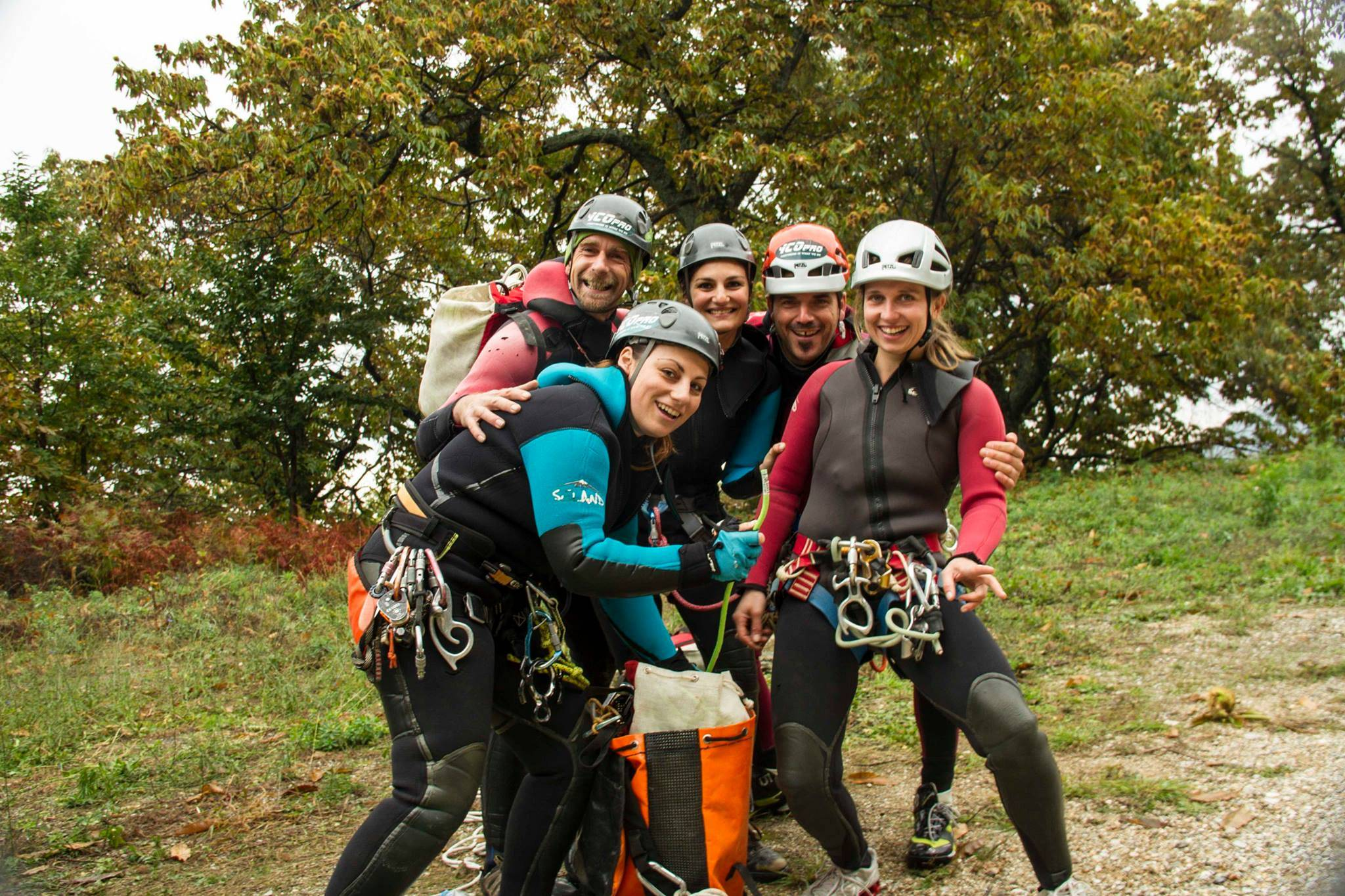 Canyoning at Pelion